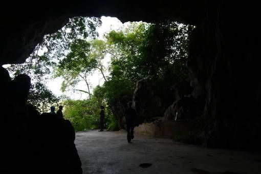 Entrance to Hospital Cave on Cat Ba Island