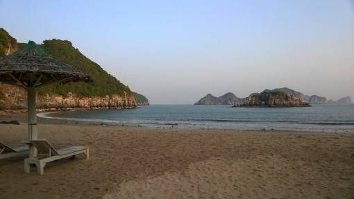 Beach on Cat Ba Island