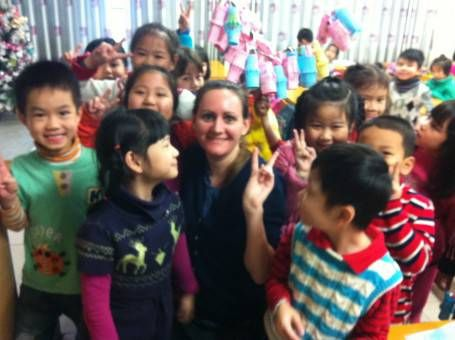 Teaching Grade One in Vietnam