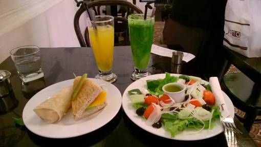 Joma Salad, Sandwich and Juice in Hanoi