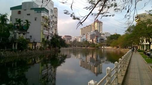Lake in Hanoi, Vietnam