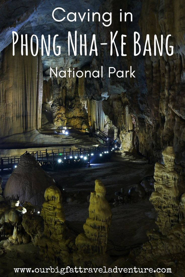 We visited Phong Nha-Ke Bang National Park in Vietnam which is a UNESCO World Heritage Site and boasts some of the longest dry caves and underground rivers in the world.