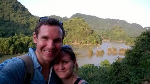 Us in Bird Valley, Tam Coc
