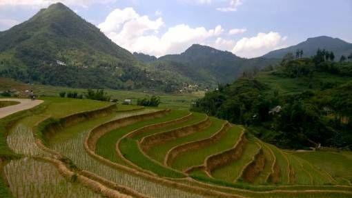 Stunning scenery in Sapa, Vietnam