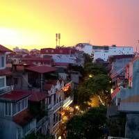Hanoi Skyline at Sunset