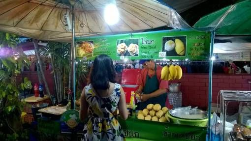 Food Stall at the Sunday Night Market in Chiang Mai