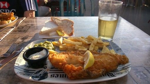 Harry Ramsden's fish and chips in Bournemouth
