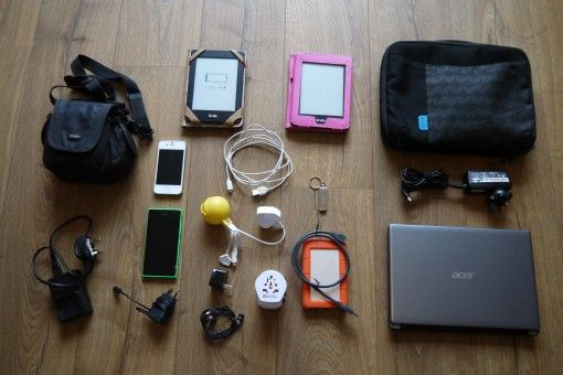 Our Electronics for travelling in the USA