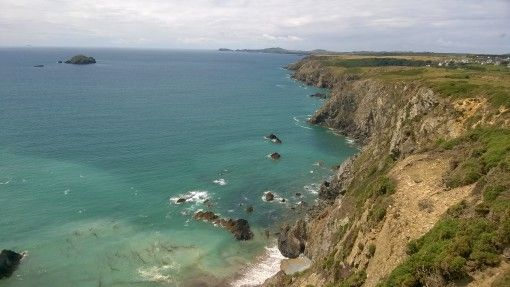 The jagged Pembrokeshire coastline of Solva
