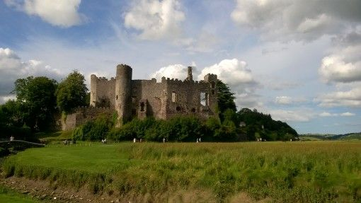 Laugharne Castle, Carmarthenshire