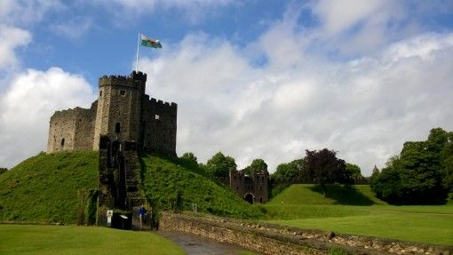 The Keep at Cardiff Castle, Wales