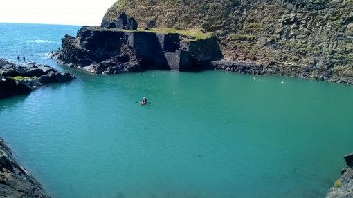 The Blue Lagoon, Abereiddy, Pembrokeshire