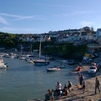 New Quay Harbour, Wales