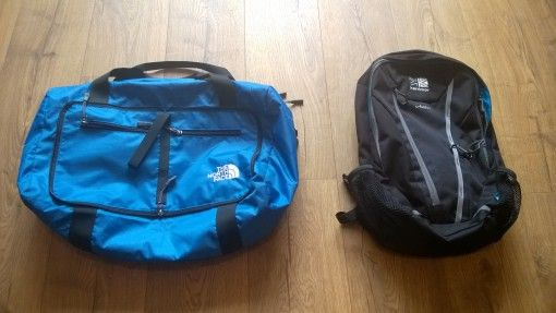 Karrimor U-Bahn 20L day pack and packaway holdall
