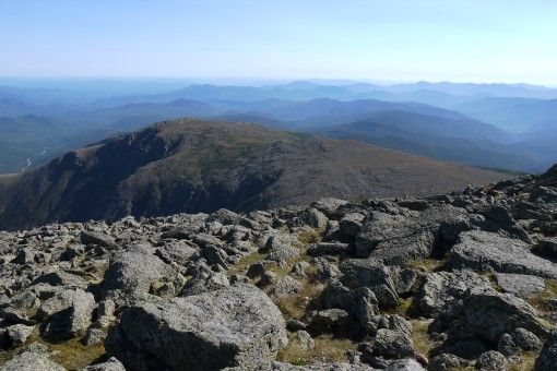 Amazing views from Mt Washington, New Hampshire