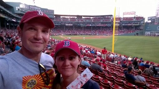 Catching a Red Sox Game at Fenway Park