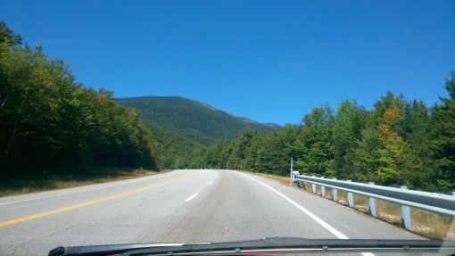 View from the Kancamagus Highway