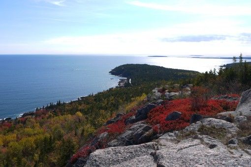 View South from Gorham Mountain
