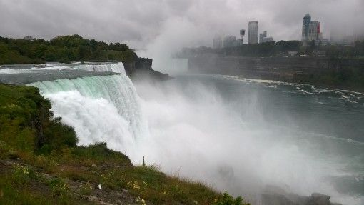 View of Niagara Falls from Prospect Point