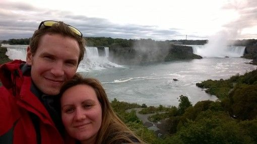 Us on our trip to Niagara Falls