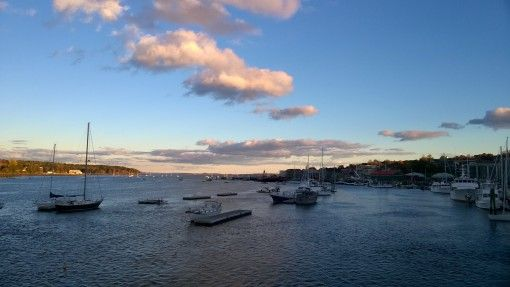 The Harbor in Belfast, Maine