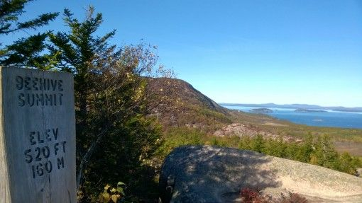 View from the Beehive Summit