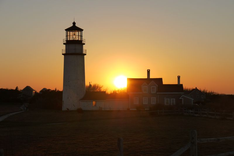 Headlight Lighthouse, Cape Cod