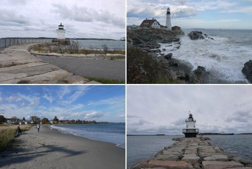South Portland lighthouses