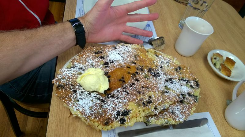 Blueberry Pancakes in America