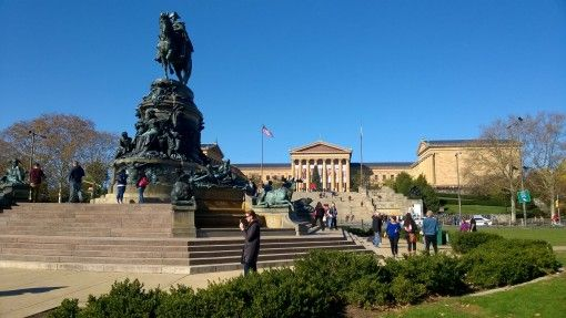 Statue & Philadelphia Museum of Art