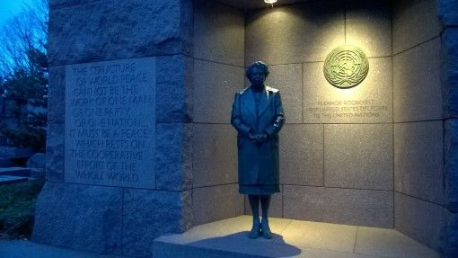 Eleanor Roosevelt Memorial in Washinton DC
