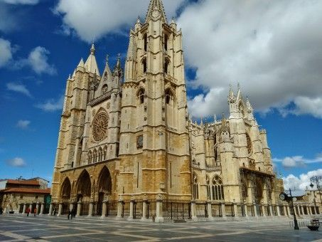 The Santa Maria Cathedral in Leon