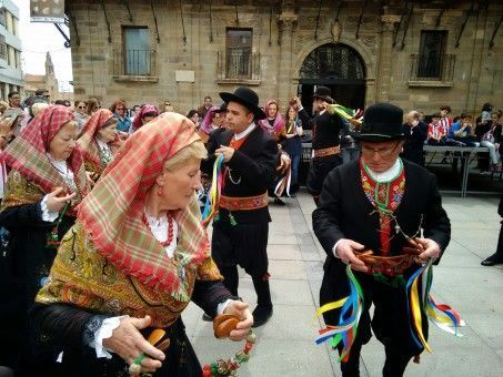 May Day Festival in Astorga, Spain