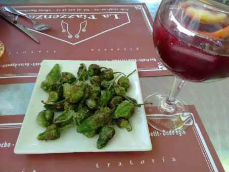 Padron Peppers and Sangria in Spain
