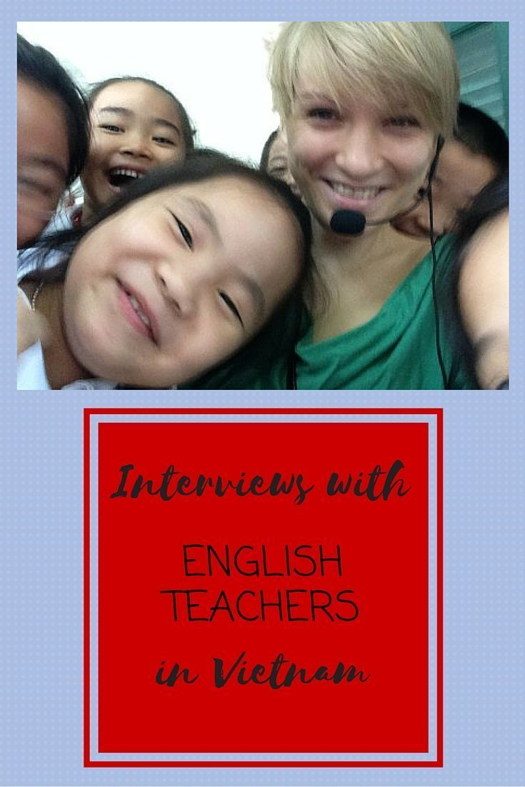 Interviews with English teachers in Vietnam