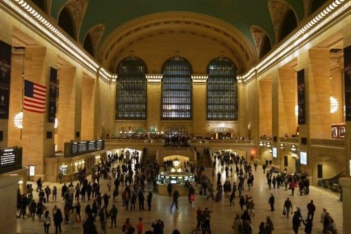 The impressive Grand Central Station, New York