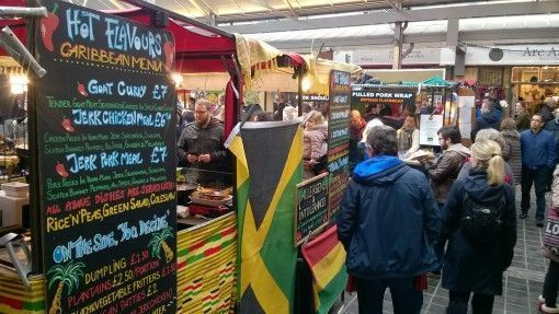 Greenwich Market Food Stalls
