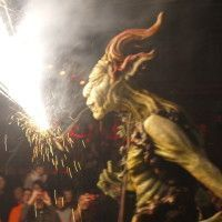 Fire-Breathing Monster, Santa Eulalia Fiesta 2016