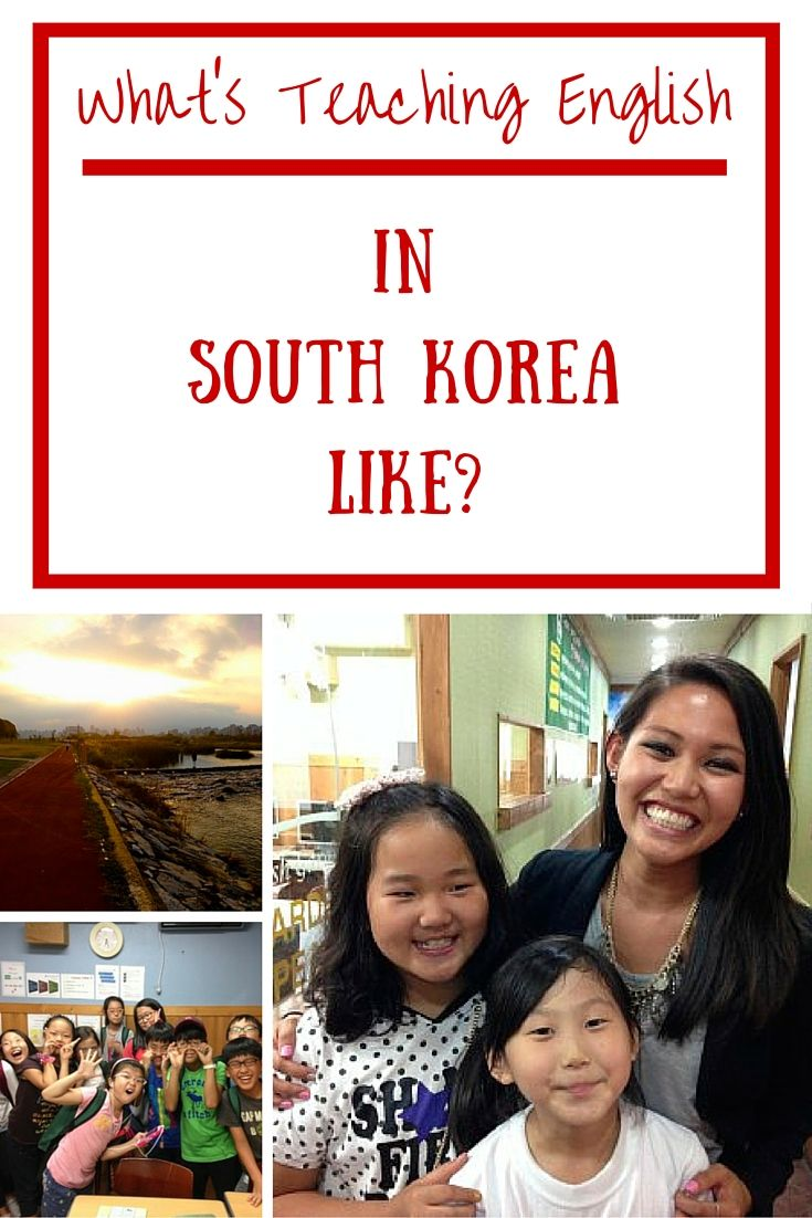 What's Teaching English in South Korea like?