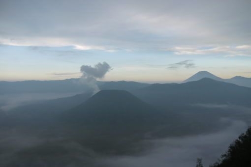View of Mount Bromo, Java, Indonesia