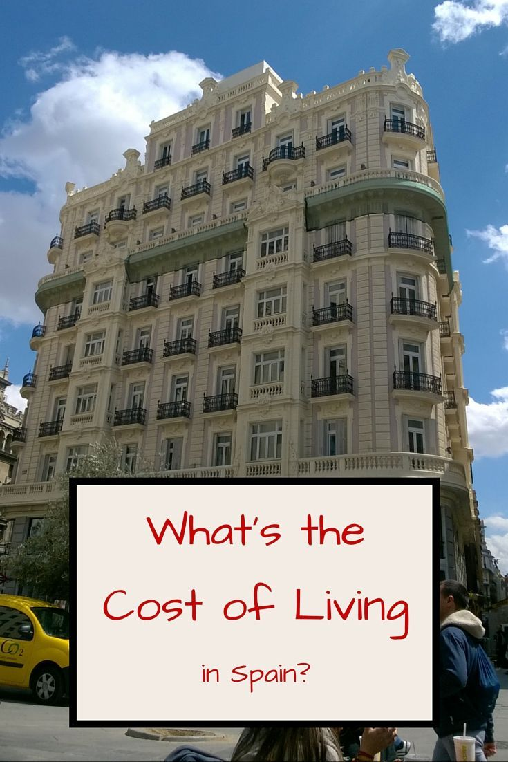 What's the Cost of Living in Spain?