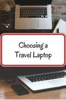 Choosing a Travel Laptop
