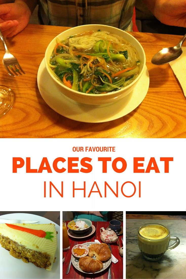 Our favourite places to eat in Hanoi