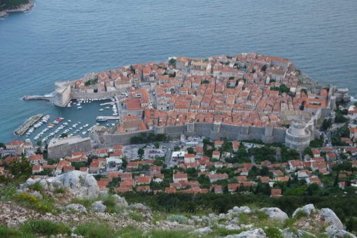 View of Dubrovnik from Fort Imperial