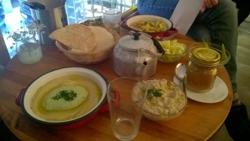 Delicious Hummus from the Hummuseria, Madrid