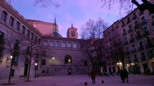 Nice Plaza in La Latina, Madrid
