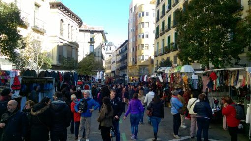 Visiting Madrid's El Rastro Flea Market