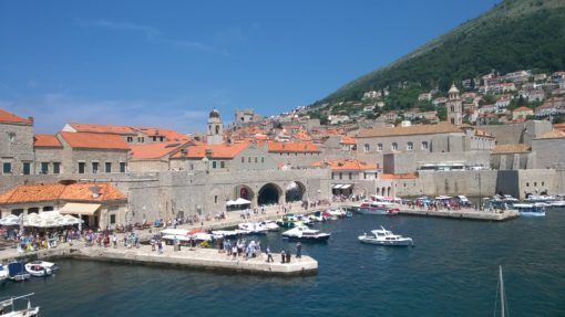 Dubrovnik Old Town's Port