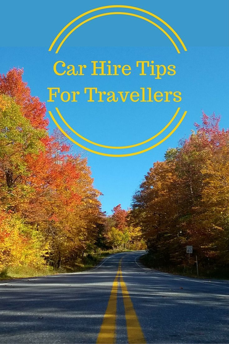 car hire tips for travellers