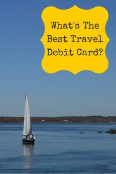 What's the best debit card to use abroad? Pinterest poster